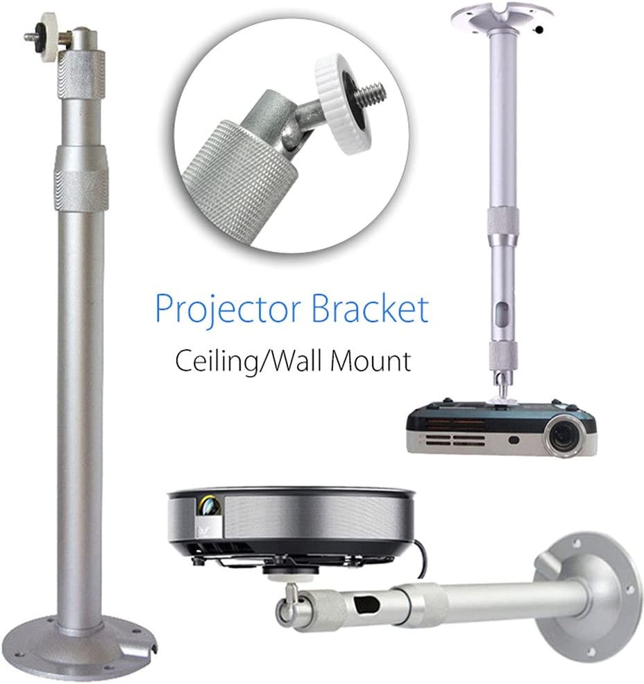 Alftek - Soporte Universal de Pared para proyector (Aluminio, 20 ...