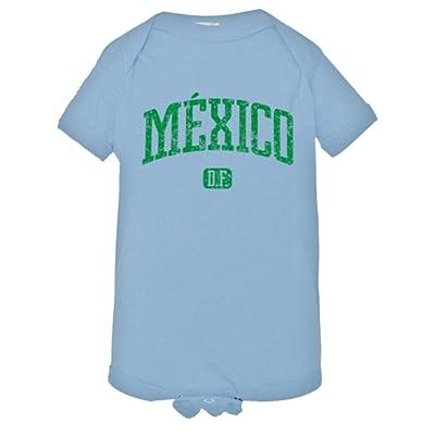6e89365d24 PleaseMeTees Baby Mexico DF Vintage Distressed Original Word HQ Bodysuit  1-Piece