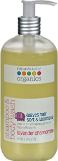 product image for Nature's Baby Organics Shampoo and Body Wash Lavender Chamomile -- 16 fl oz