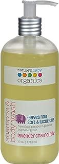 product image for Nature's Baby Organics Shampoo and Body Wash Lavender Chamomile -- 16 fl oz