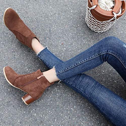 Chelsea Marrone Smilice Donna Smilice Chelsea Stivali Stivali Donna PA7Fwqx71n
