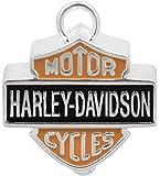Harley-Davidson Big Bar & Shield Ride Bell Orange & Black HRB023