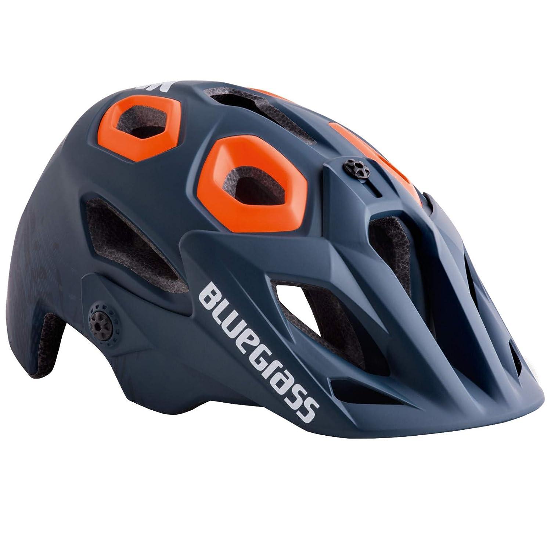 Blaugrass Golden Eyes All Mountain Helm Petrol Blau Orange 2018 Fahrradhelm