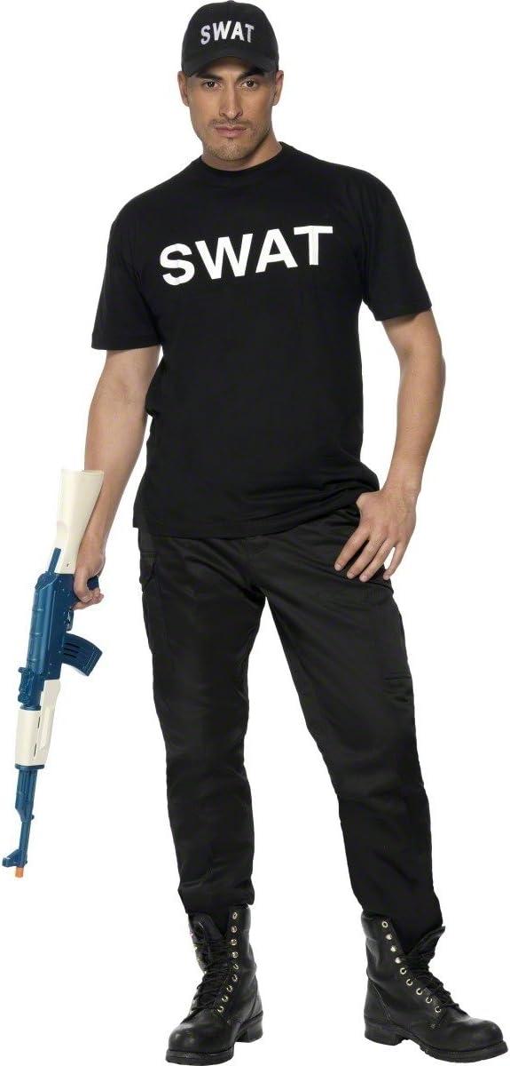 Disfraz SWAT hombre: Amazon.es: Juguetes y juegos
