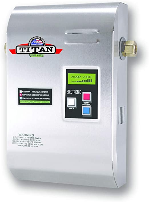 Amazon.com: Titan scr3 N160 Electric Tankless calentador de ...