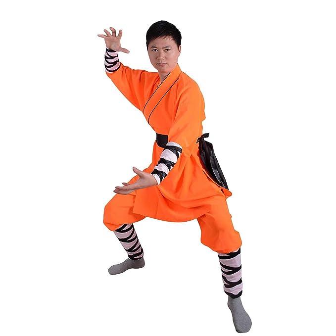 Amazon.com: Chino tradicional Shaolin Temple Warrior Monks ...