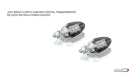 Intermitentes universales moto ZAFIRO brazo corto LEDS HOMOLOGADOS 2585W PUIG