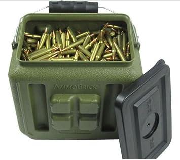 Stackable Ammo Storage Container- AmmoBrick 1.6 Gallon Portable Ammunition and Bullet Storage Solution - Maximize  sc 1 st  Amazon.com & Amazon.com: Stackable Ammo Storage Container- AmmoBrick 1.6 Gallon ... Aboutintivar.Com