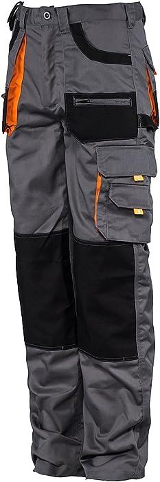 Stenso des-Emerton® - Pantaloni da Lavoro - Uomo - con Elastico in ... b3b5c06796e