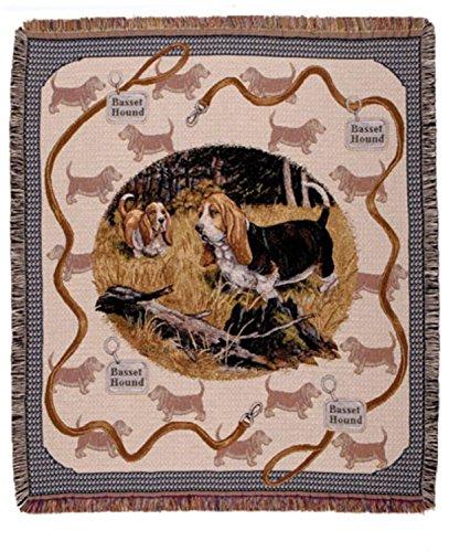 Basset Hound Tapestry - 1