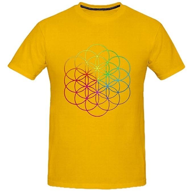 Kerner Mens Coldplay A Head Full of Dreams Rock Cotton T-Shirt: Amazon.es: Ropa y accesorios