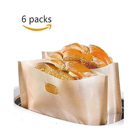 Bolsas de tostadora reutilizables, 6 unidades, DOCA ...