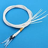 BephaMart 5Pcs 100K 1% NTC Single Ended Glass Sealed Thermistor Temperature Sensor For 3D Printer Shipped and Sold by BephaMart