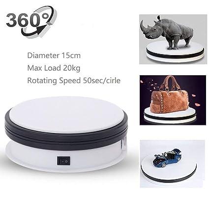 Amazon Com Motorized Turntable Display Yuanj 360 Degree Electric