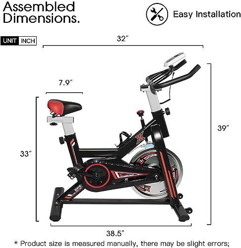 HCLINK Indoor Cycling Bike Stationary Exercise Bike