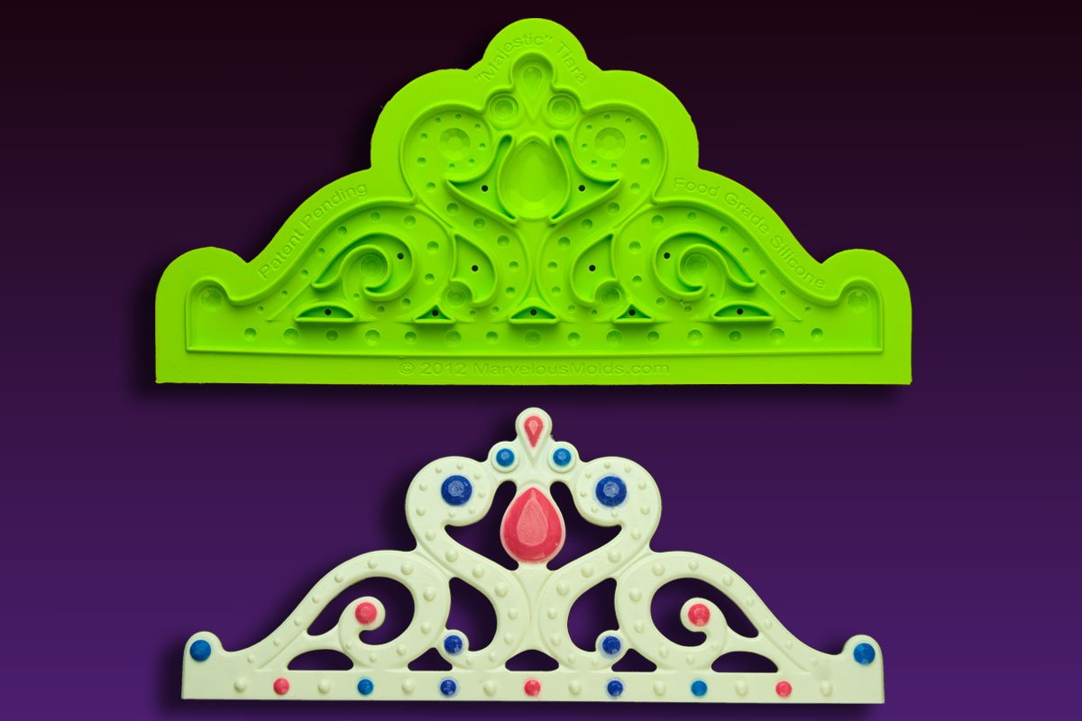 Majestic Tiara Mold by Marvelous Molds