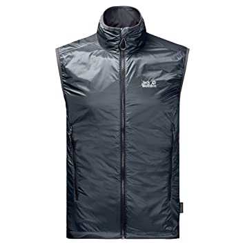 Wolfskin Air Laufwesten Herren Jack Vest Windamp; Lock Ebony 4jARL35