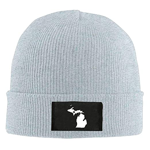 Adult Beanie Hat Love Michigan State Map Skull Cap at Amazon Men s Clothing  store  6f678a2fb