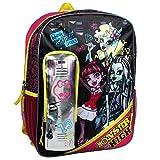 Monster High 16 inch Backpack - Locker Scribble