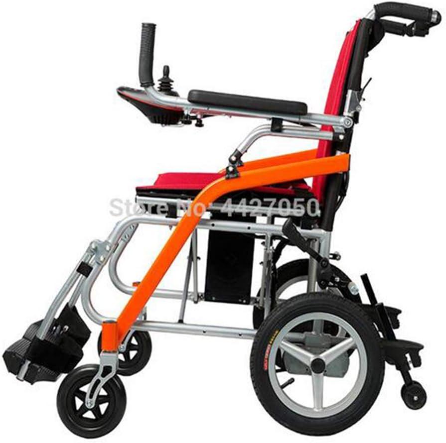MEILUN Mejor Precio Silla de Ruedas eléctrica portátil Ligera Personas con discapacidad