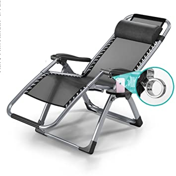 PC CHAIR Zero Gravity Plegables Silla Plegable de Camping ...