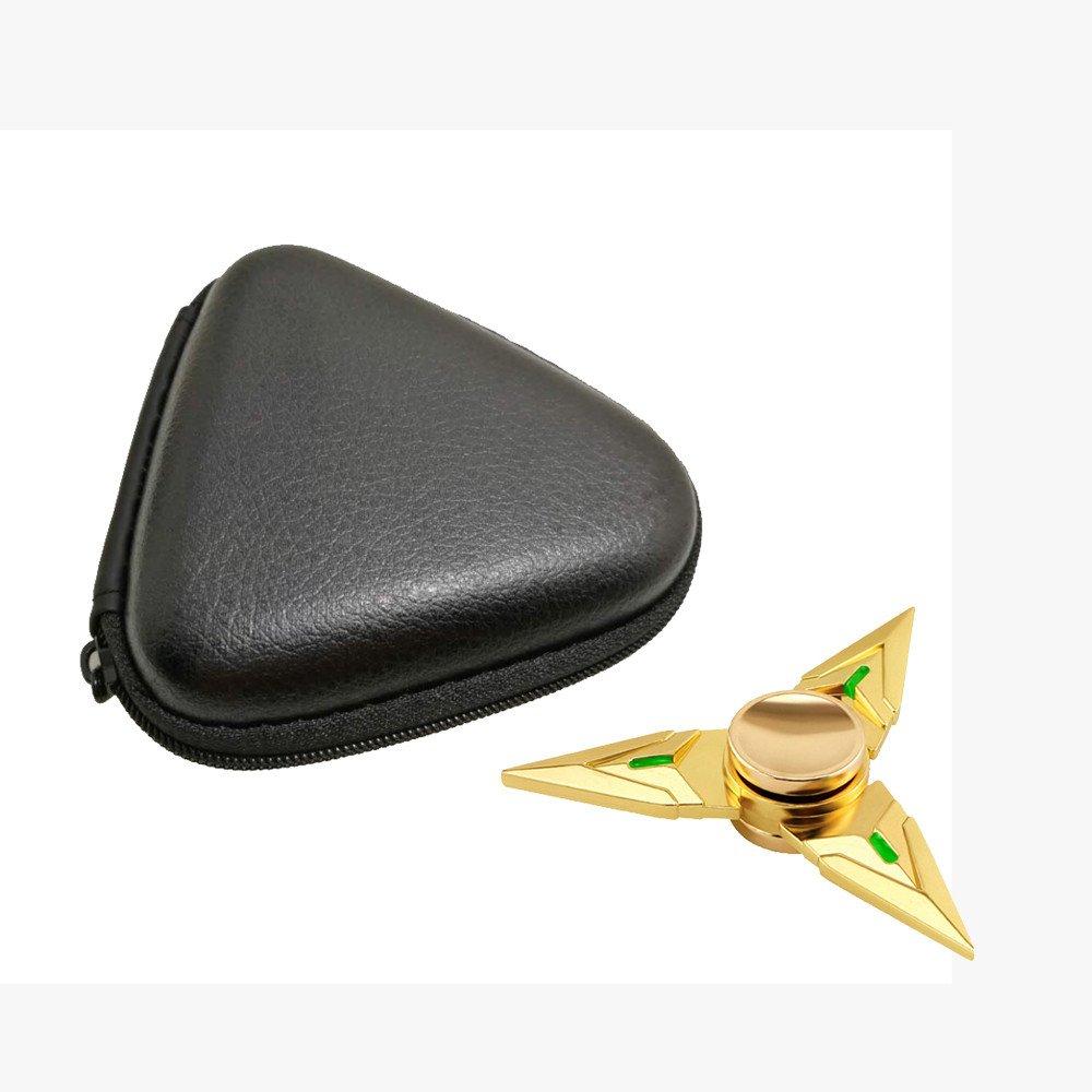 Aribelly Box Case For Dustproof Hand Spinner EDC Fidget Spinner (Black)