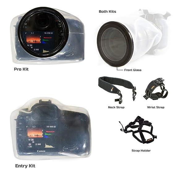 Amazon.com: Outex - Funda impermeable para cámara de fotos ...