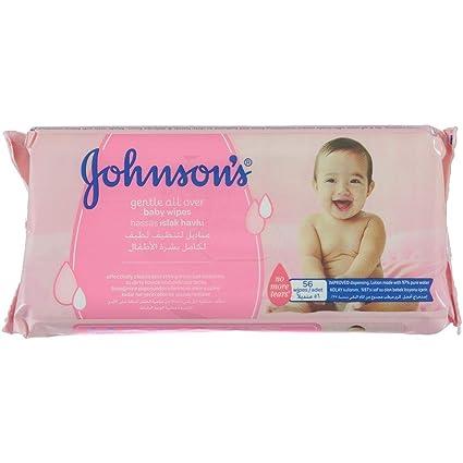 Johnsons - Toallitas húmedas 56 unidades