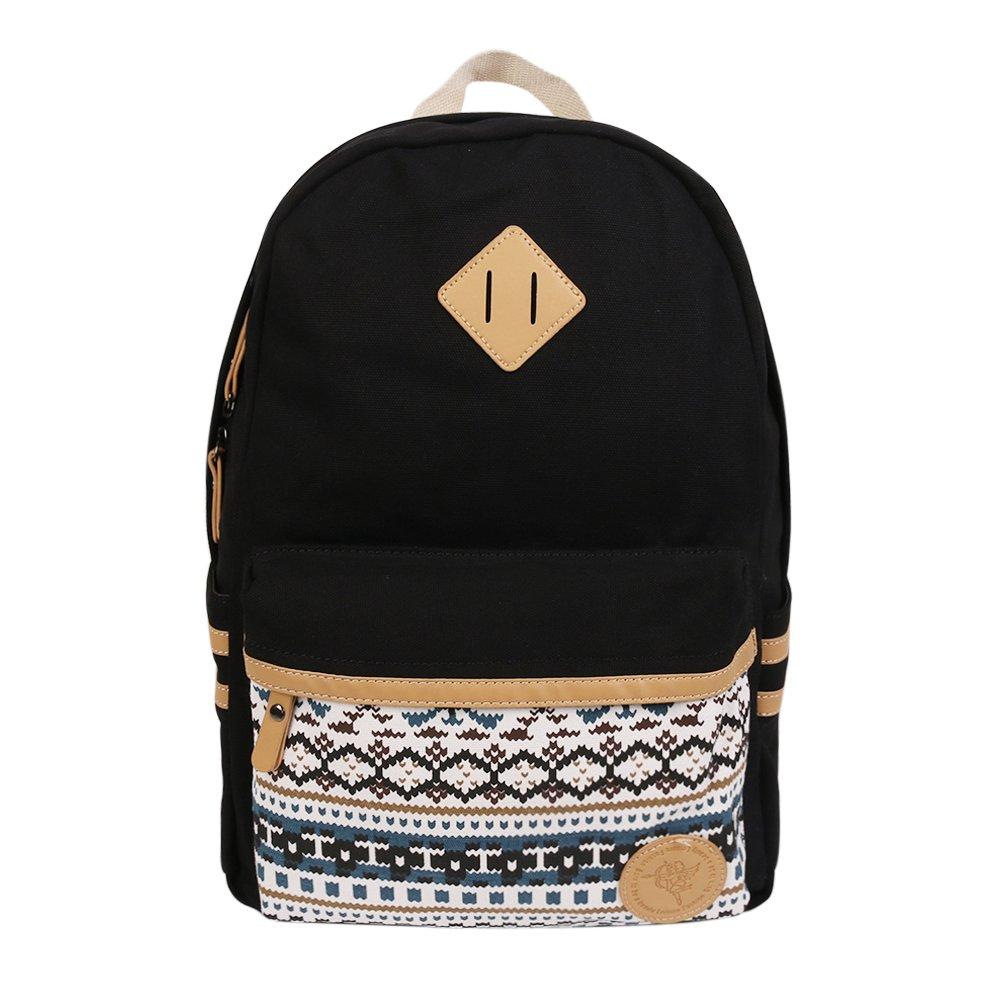 Marsoul Rucksack/wasserdichter Rucksack 13.8'College Vintage Reisetasche für Frauen, 13inch Laptop für Studenten MS-0008