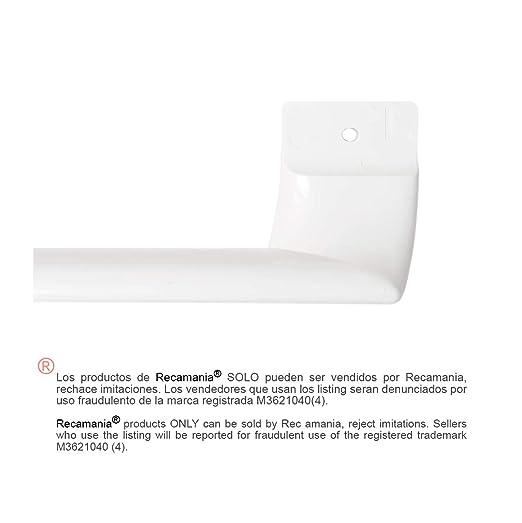 Recamania Tirador Puerta frigorifico Blanco. BALAY, Bosch, C.O. ...