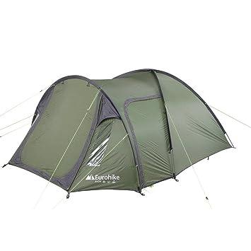 d84264d95a2 Eurohike Avon DLX 3 Man Tent, Green, One Size: Amazon.co.uk: Sports ...