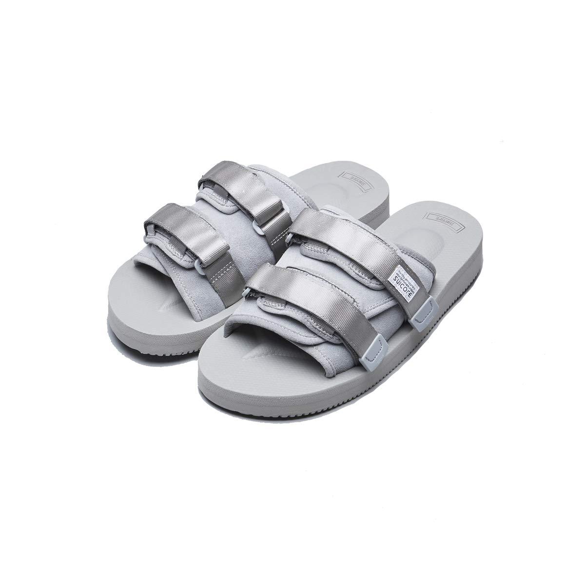 Suicoke 2019SS OG-056VS / Moto-VS Vibram Sandals Slides Slippers 4 Colors (11 M US, Gray)