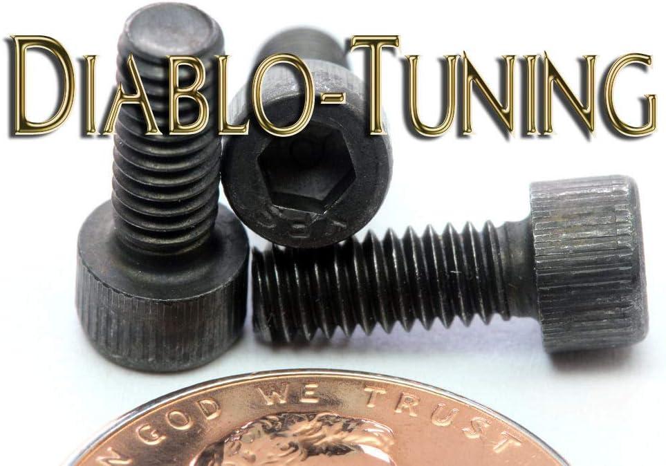 #6-40 x 3//8 Qty 10 Socket Head Cap Screws SAE Alloy Steel w//Black Oxide