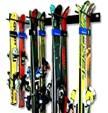 StoreYourBoard Ski Wall Storage Rack | Steel Home and Garage Skis Mount