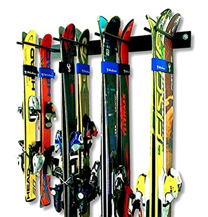 Genial StoreYourBoard Ski Wall Storage Rack | Steel Home And Garage Skis Mount