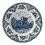 "Johnson Brothers Old Britain Castles Blue Dinner Plate 10"", 10"", Blue"