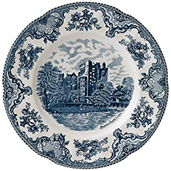 Amazon.com | Johnson Brothers Old Britain Castles Blue Dinner Plate ...