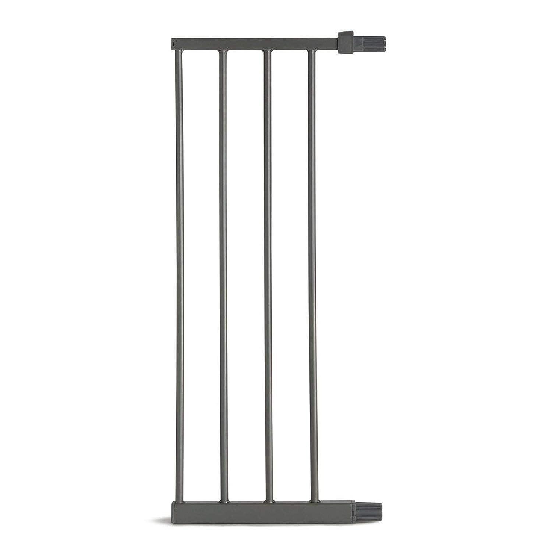 erweiterbar auf 114 cm mit Verl/ängerung Munchkin Easy Lock T/ür-// Treppenschutzgitter mit Druckbefestigung Metall wei/ß 73-79 cm