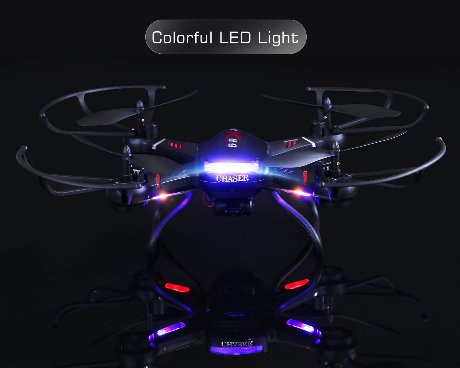Holy Stone F181W WIfi Fpv Drone offers excellent LED lights