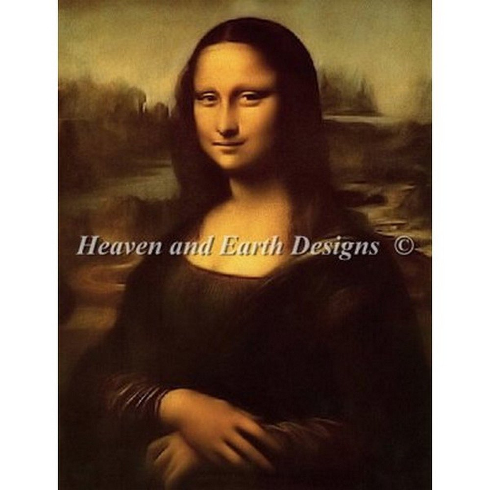 Heaven And Earth Designs(HAED) クロスステッチキット Mona Lisa(モナリザ) [並行輸入品] B015811JAA