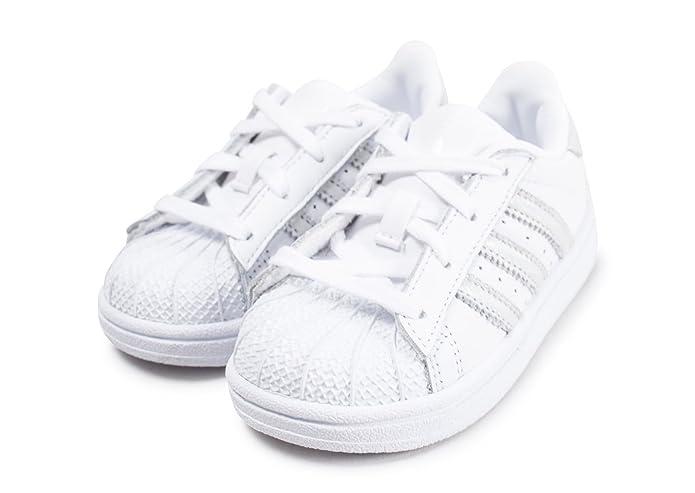 adidas Superstar I CQ2868 Colore: Bianco Argento Taglia: 21.0