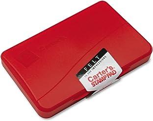 Carters 21071 Felt Stamp Pad, 4 1/4 x 2 3/4,