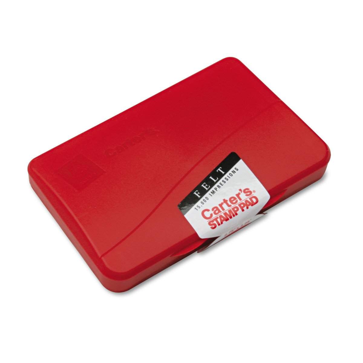 Avery Carter's Felt Stamp Pad, Red, 2.75 inch x 4.25 inch (21071) Avery Products Corporation