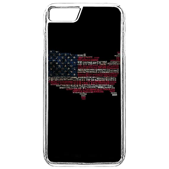 iPhone 8 Case,iPhone 8 Case American Flag,iPhone 8 Protective Cover USA Flag