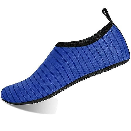 BIGU Zapatos de Agua Aqua Yoga para Mujer Hombre Niños Descalzo Piel Calcetines de Buceo Natación Secado rápido Agua Calcetines para la Playa de ...