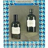 Geoffrey Beene Grey Flannel for Men 2 Piece Gift Set (4 Ounce Eau de Toilette Splash Plus 4 Ounce After Shave Lotion)