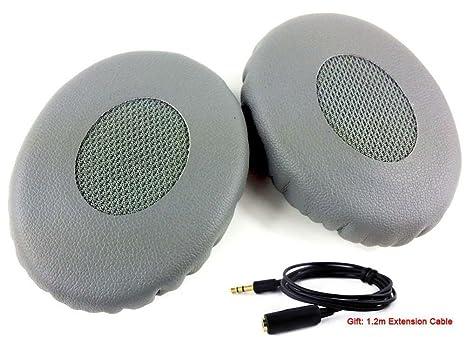 BLACK Leather Ear Cushion pads Ear pads for BOSE ON EAR 2 2i OE2i OE2 Headphone