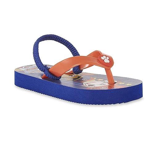 Amazon Nickelodeon Toddler Boys Paw Patrol Blue Flip Flop