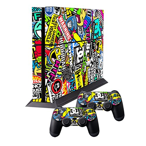 Pad Decals Vinyl Laid Honey Ps4 Skin Red Paisley Pattern Bandana Do Rag Sticker Video Game Accessories