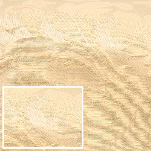 Damask Beige Fitted Mattress Cover Twin 582